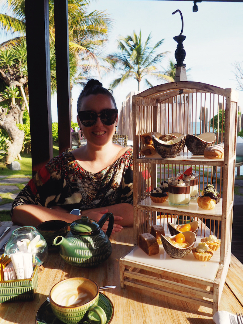 Afternoon tea at The Royal Purnama before getting the lurgies