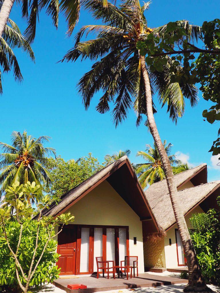 Beach villa at Adaaran Select Huduranfushi