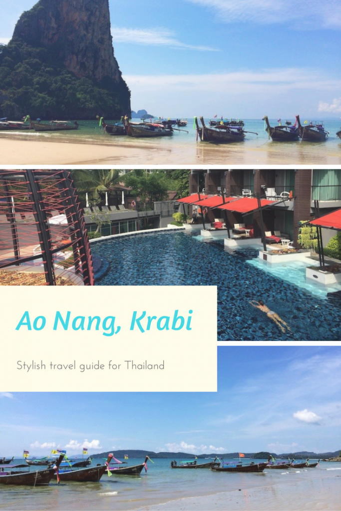Stylish travel guide to Ao Nang Krabi