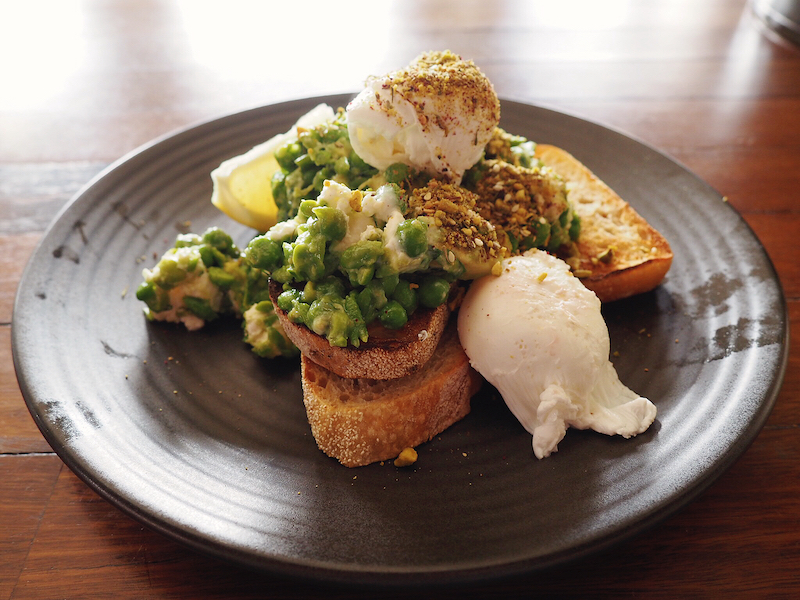 Smashed avo at Wide Open Road - Best brunch in Brunswick
