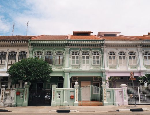 Joo Chiat Peranakan Houses Singapore