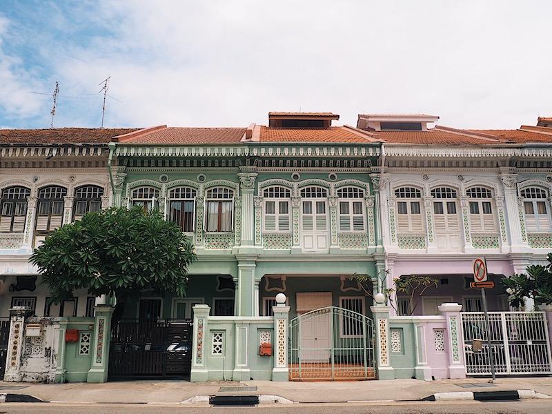 Joo Chiat Peranakan Houses Singapore