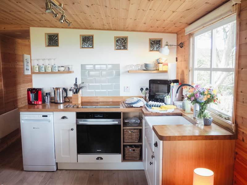 Scand cabin near St Ives Cornwall