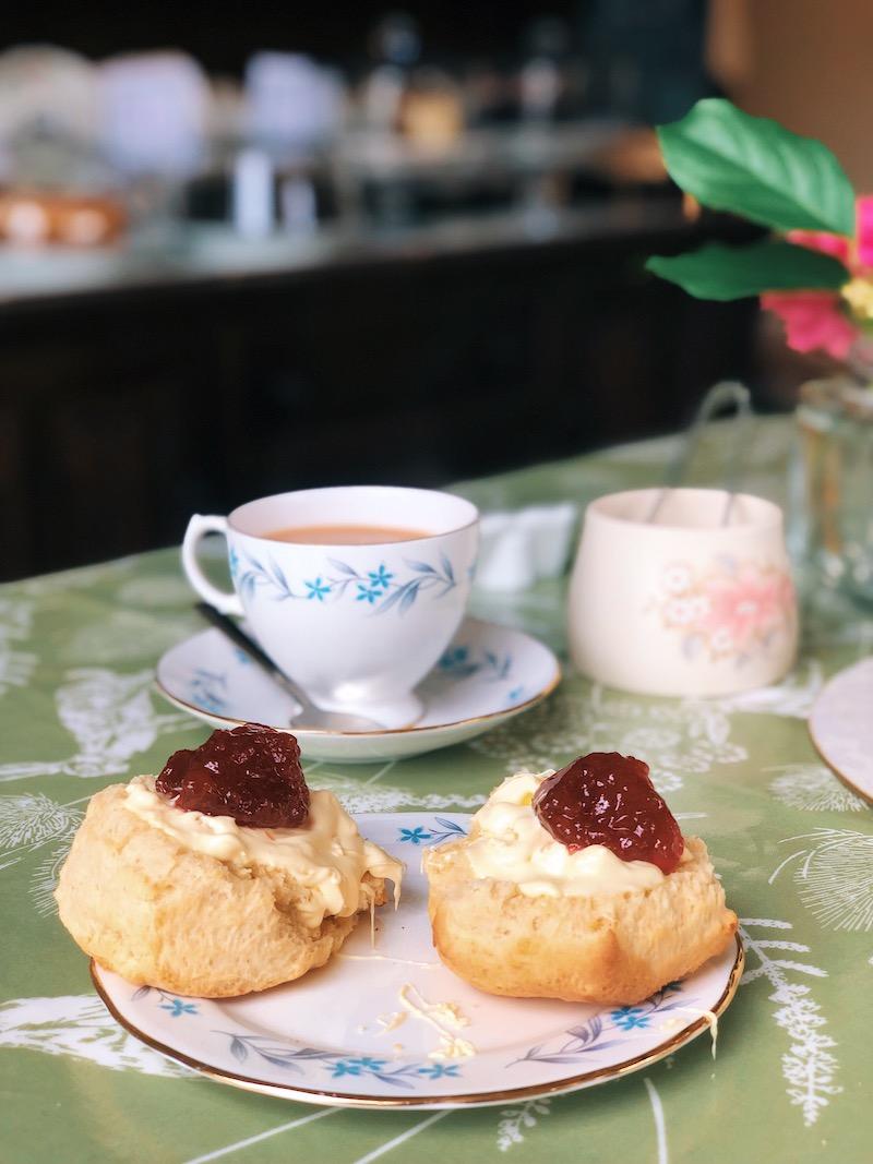 Cream Tea in Croyde
