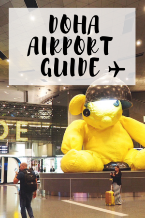Doha airport guide - tips for transit passengers in Qatar