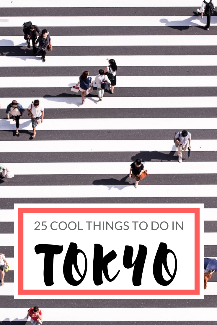 Fun things to do in Tokyo Japan