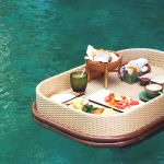 Our Floating Breakfast in Bali 'fail'