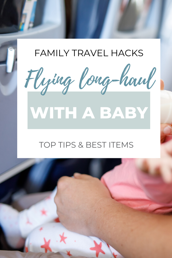 How to survive flying internationally with a baby
