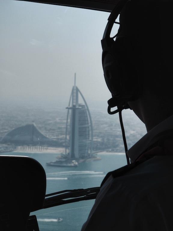 Heli Dubai - view of Burj Al Arab