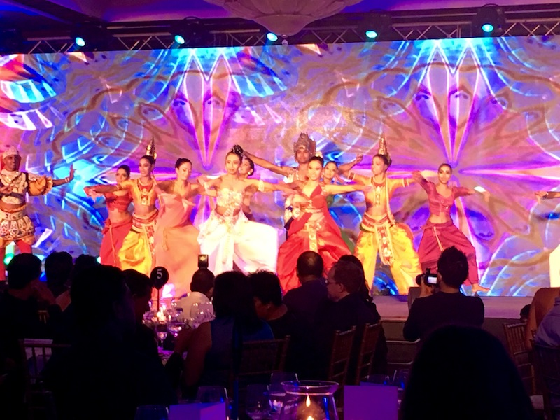 Sri Lankan dancers open the Cinnamon Travel Blogger Awards 2016