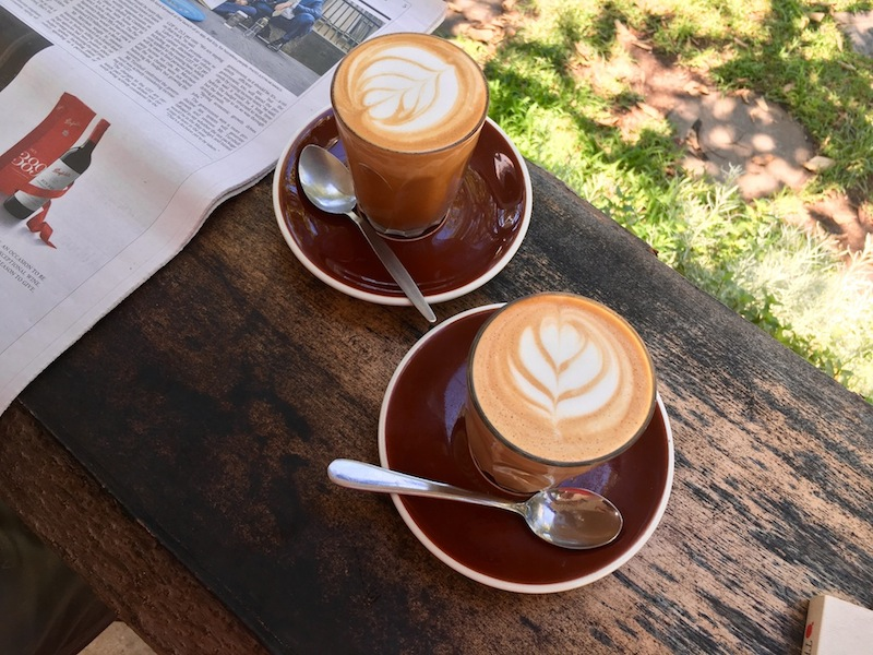 Coffee's great too