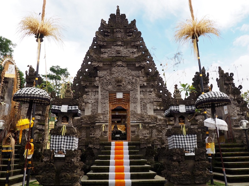 The Payangan village temple near Alila Ubud