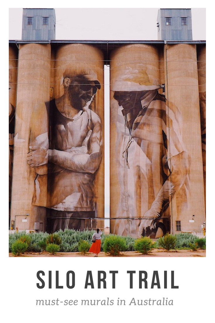 Guide to visiting the Silo Art Trail Australia