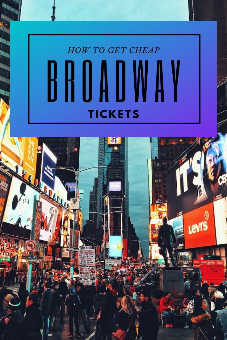 How to get cheap Broadway Tickets - all you need to know about the Broadway Lottery
