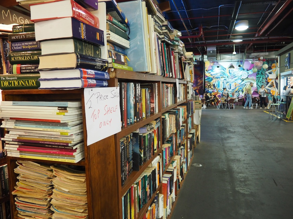 A food market with books and booze gets the thumbs up from me