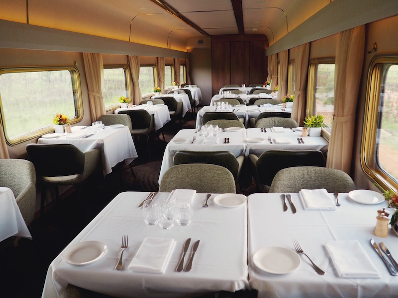 Platinum Club on The Ghan