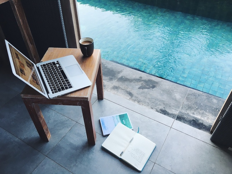 My 'office' in Bali