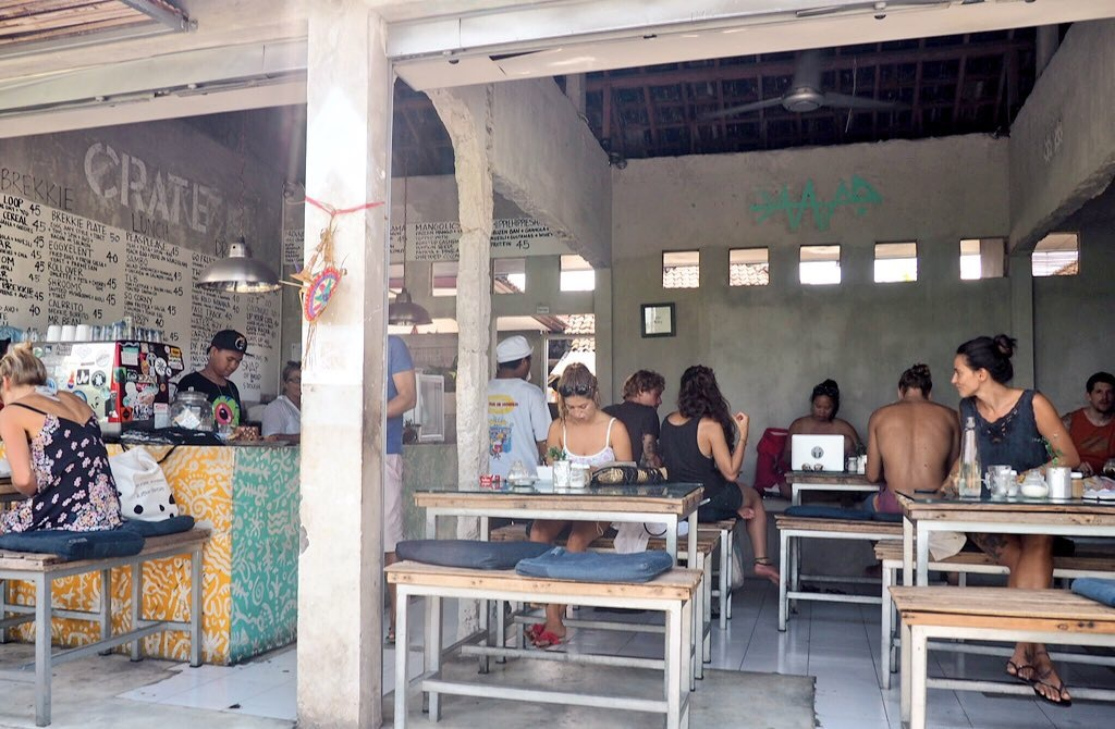 Crate is Canggu's version of the 'coffice'