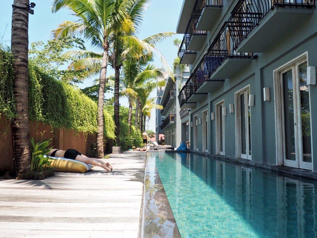 Poolside at Frii Bali Echo Beach