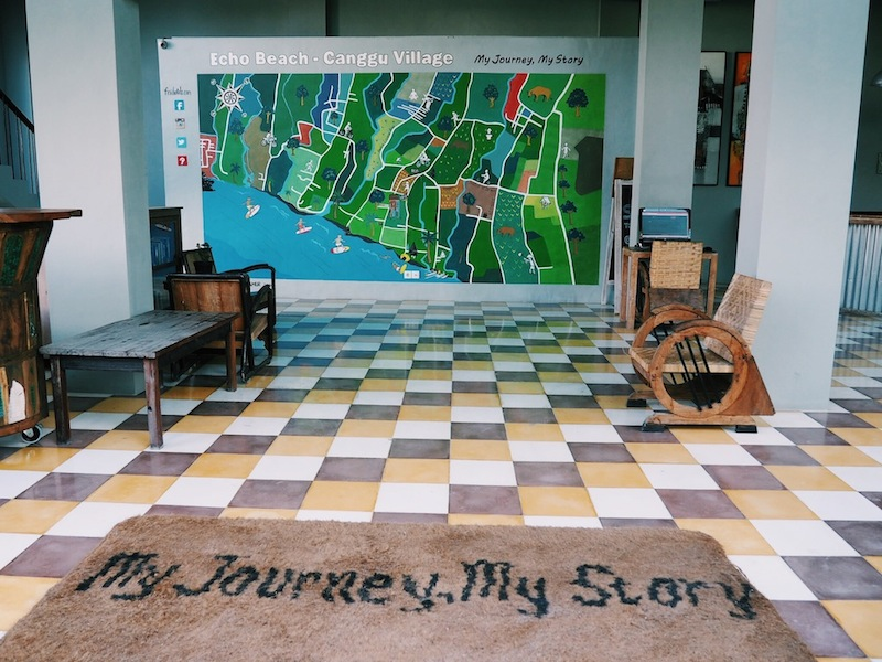 The hotel's motto: My Journey, My Story