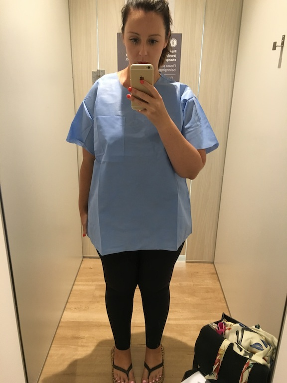 Channelling Scrubs for my BUPA visa medical assessment