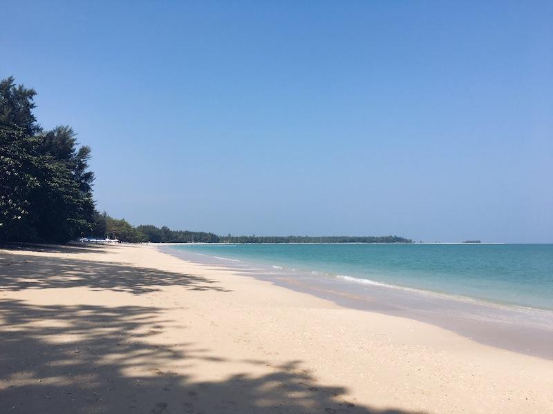 White Sand Beach Khao Lak Thailand