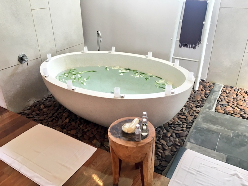 Bathtub in the Spa Suite at The Sarojin Khao Lak