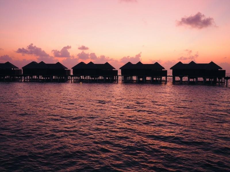 Sunset at Coco Bodu Hithi Maldives