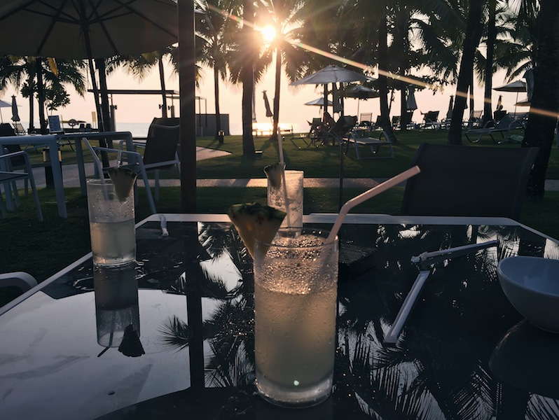 Sundowners at The Sands in Khao Lak