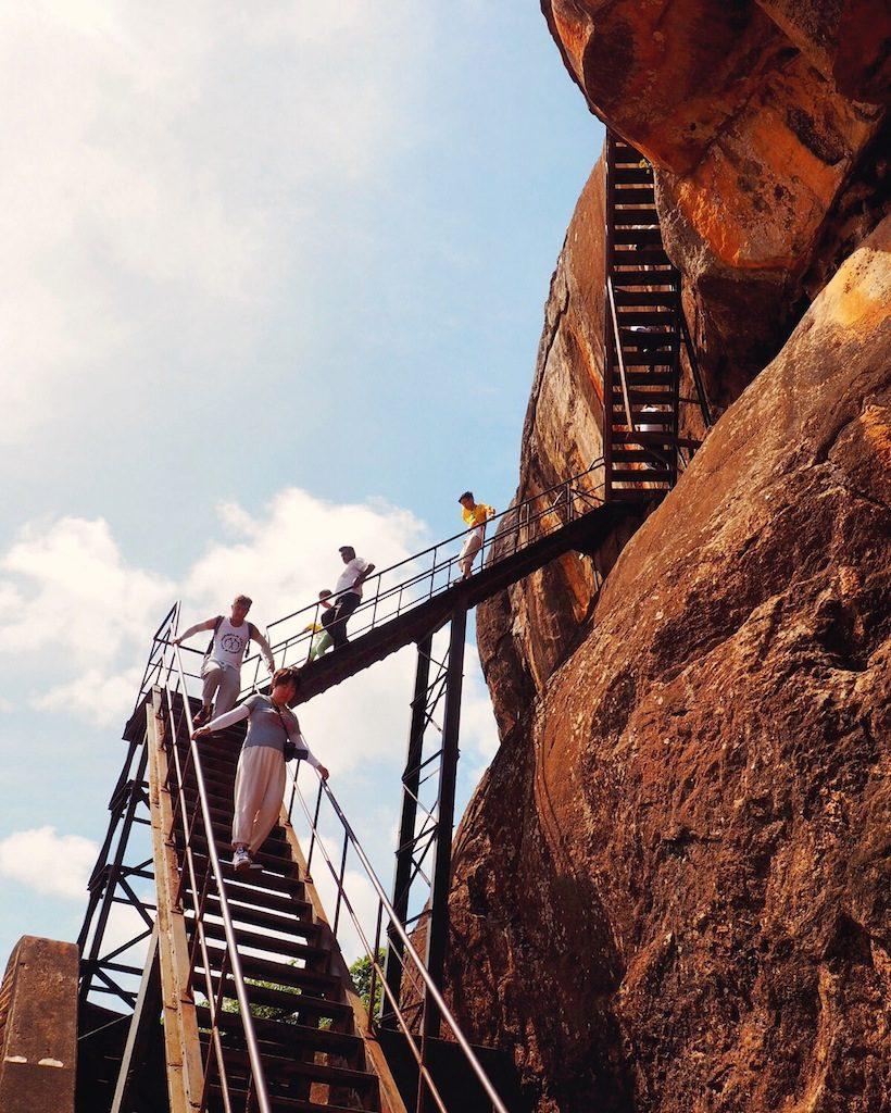 Tips For Climbing Sigiriya - The Lion Rock In Central Sri Lanka