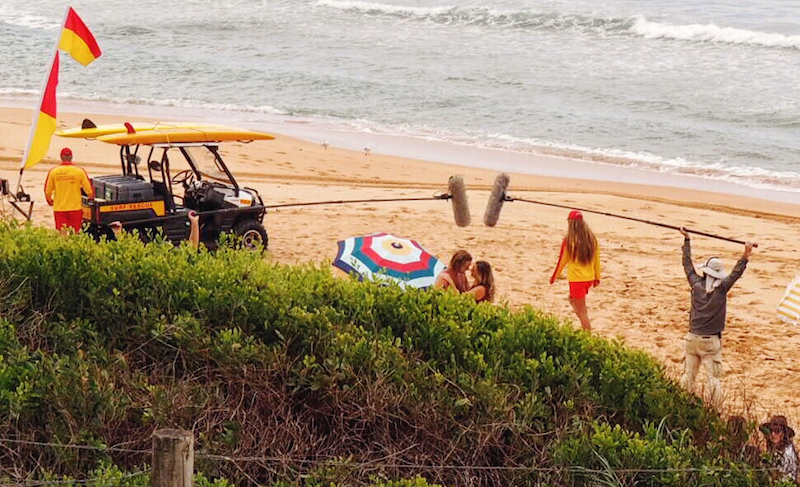 The Home & Away crew in Palm Beach