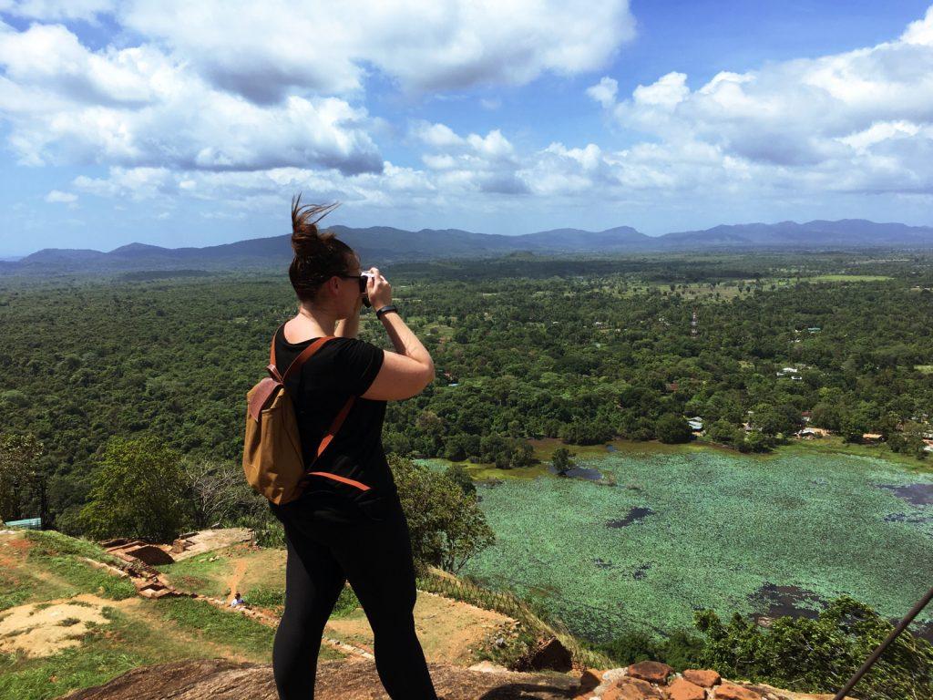'Blogger at work' in Sri Lanka