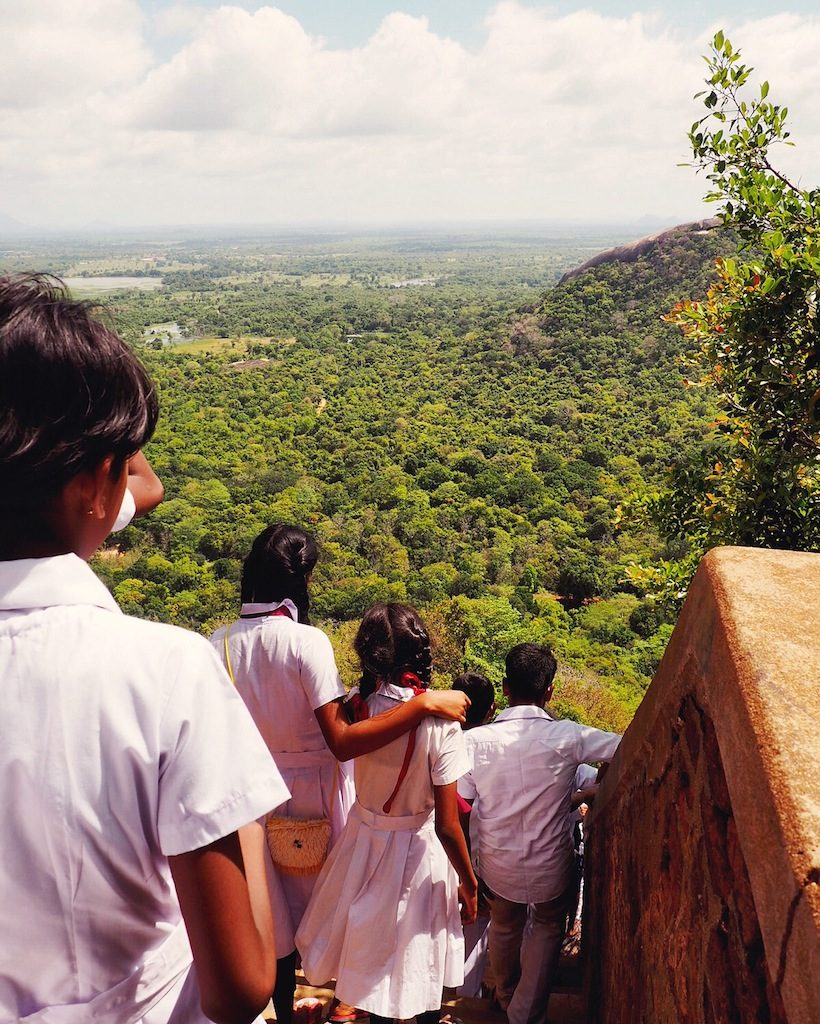 Tips For Climbing Sigiriya - The Lion Rock In Central Sri Lanka