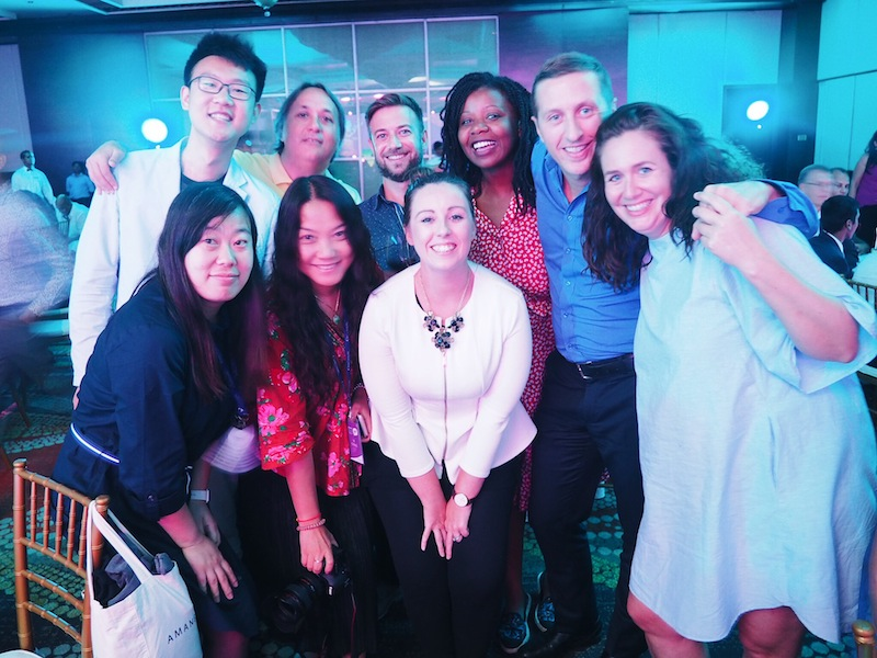 With incredibly supportive new friends at TBCAsia