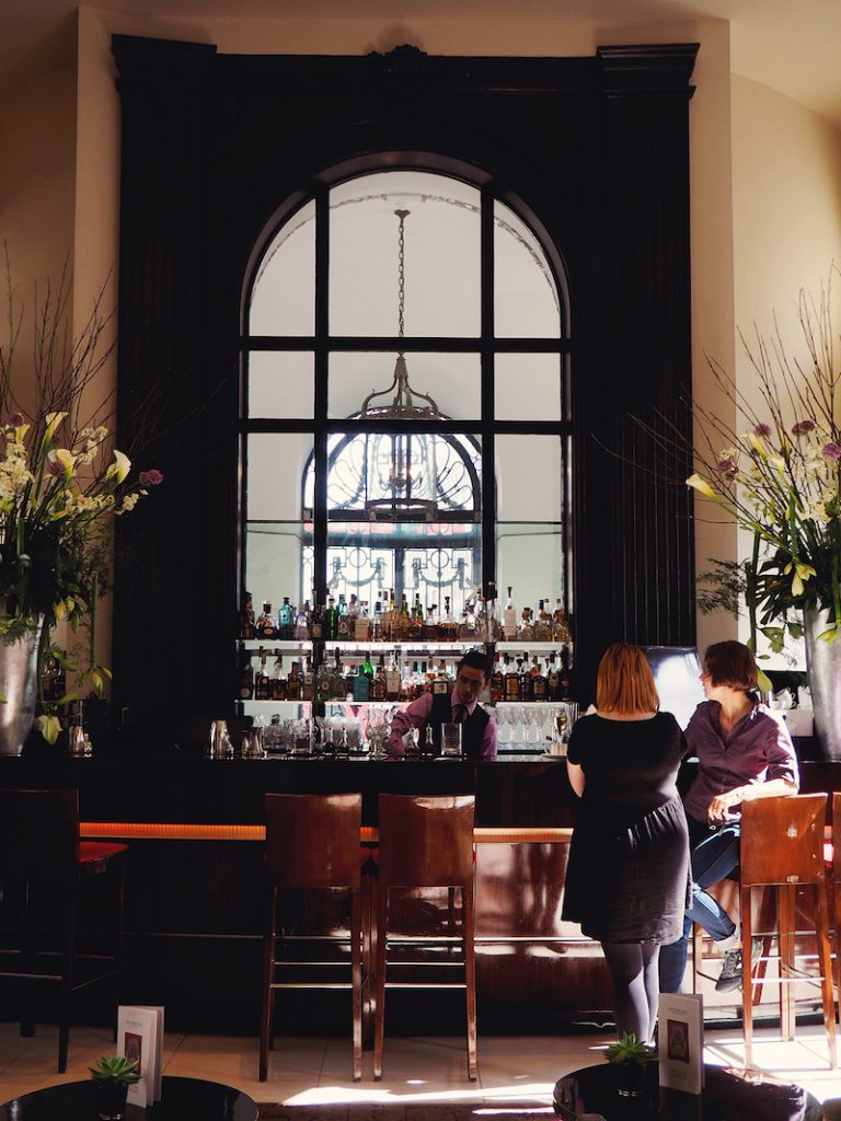 Drinks in the Lobby Bar at One Aldwych