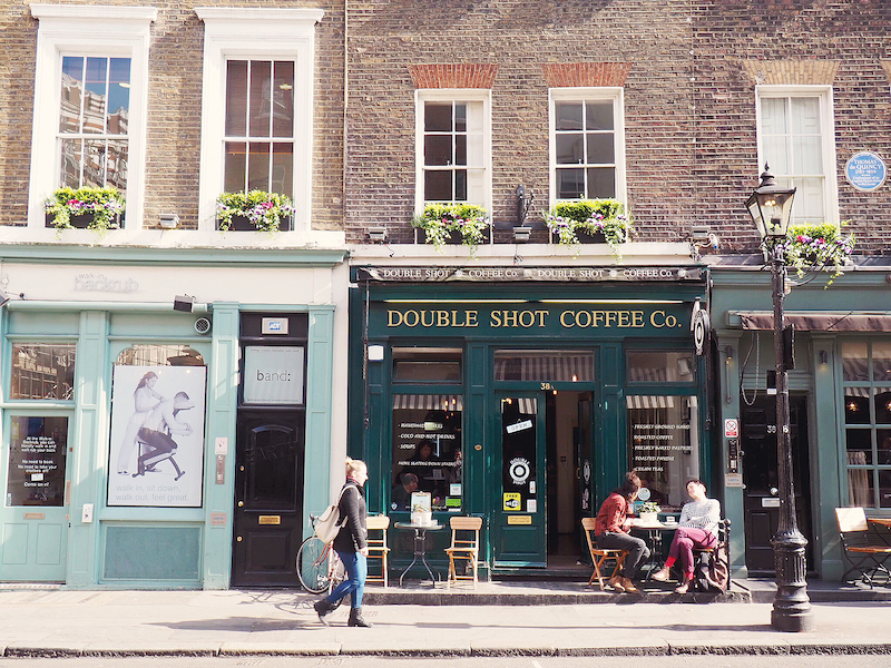 Covent Garden cafes