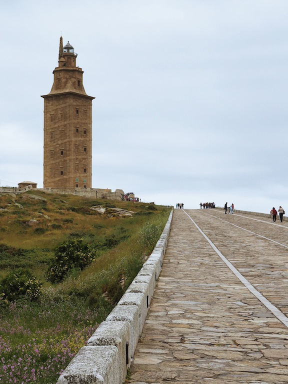 The World Heritage Listed lighthouse - Tower Of Hercules