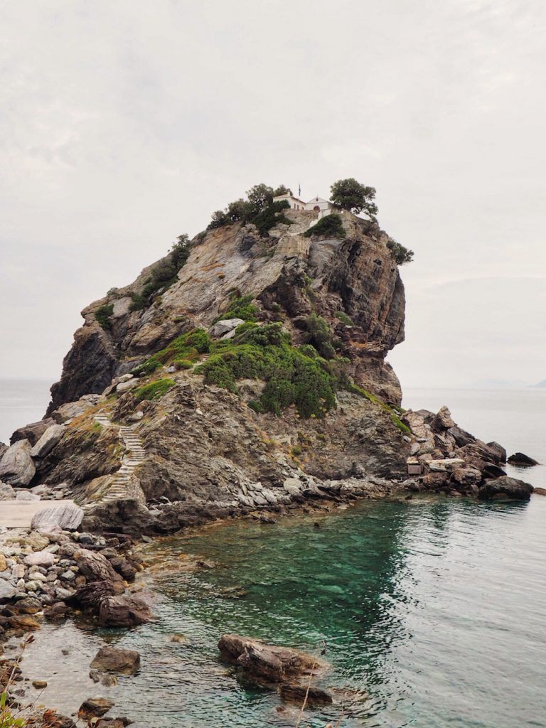 Ag.Ioannis is known as the Mamma Mia Chapel in Skopelos
