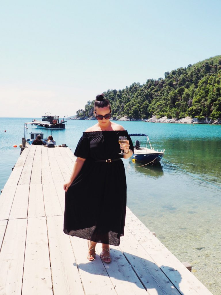 Mamma Mia highlights tour with Dolphin of Skopelos