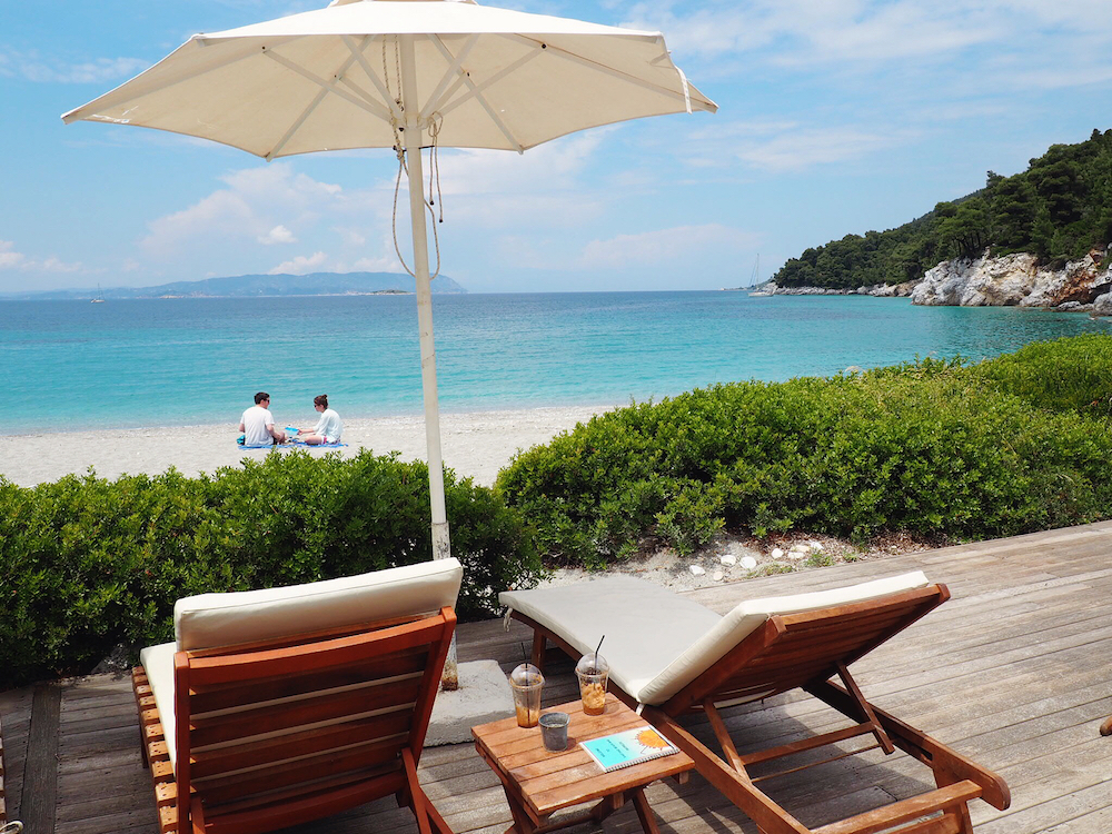 Kastani is known as the Mamma Mia beach