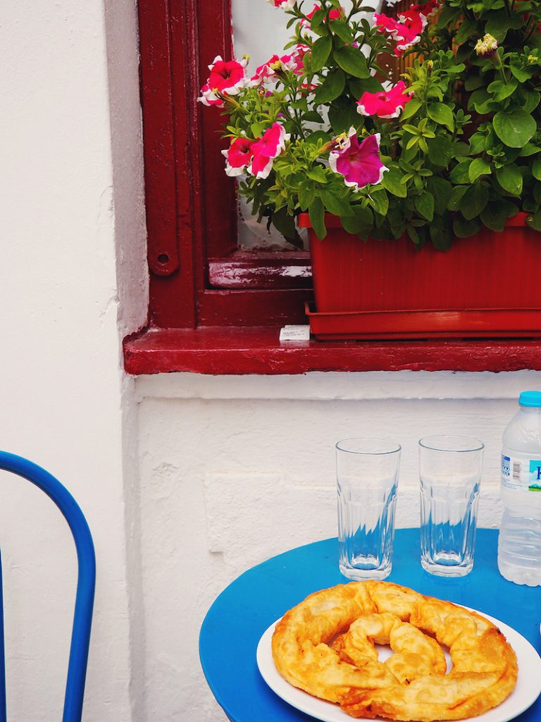 Best cheese pie in Skopelos
