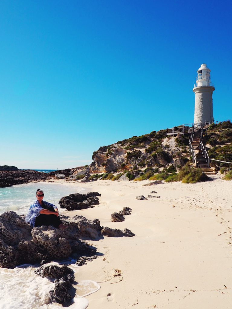 Bathhurst Lighthouse Rottnest Island WA