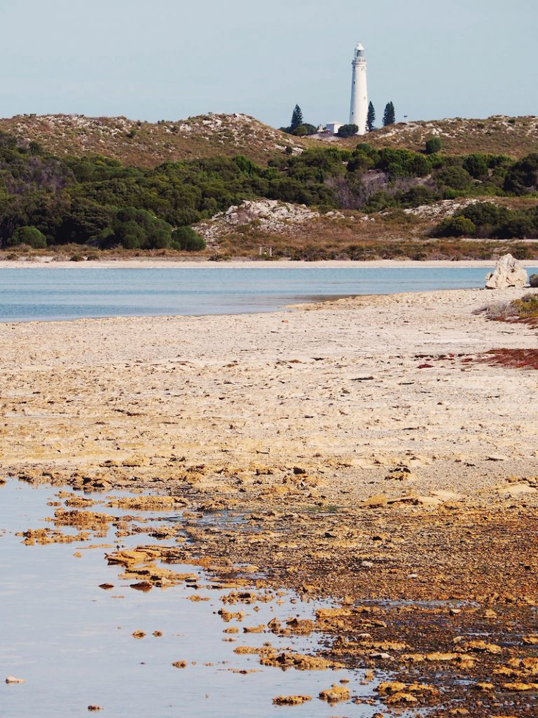 Lakes on Rottnest Island