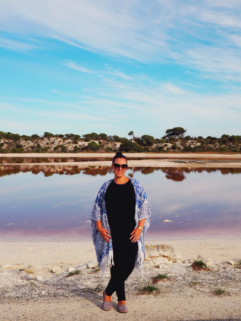Pink Lake on Rottnest Island