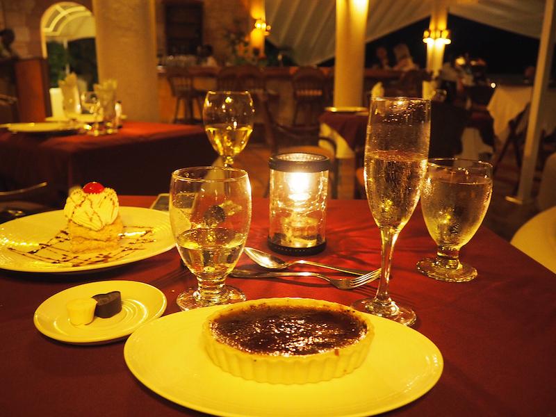 Save room for desserts at Piccolo Mondo