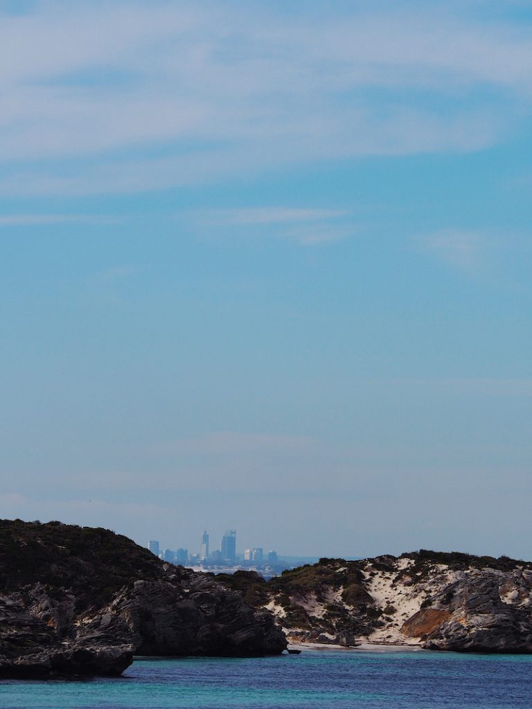 Perth CBD in the distance