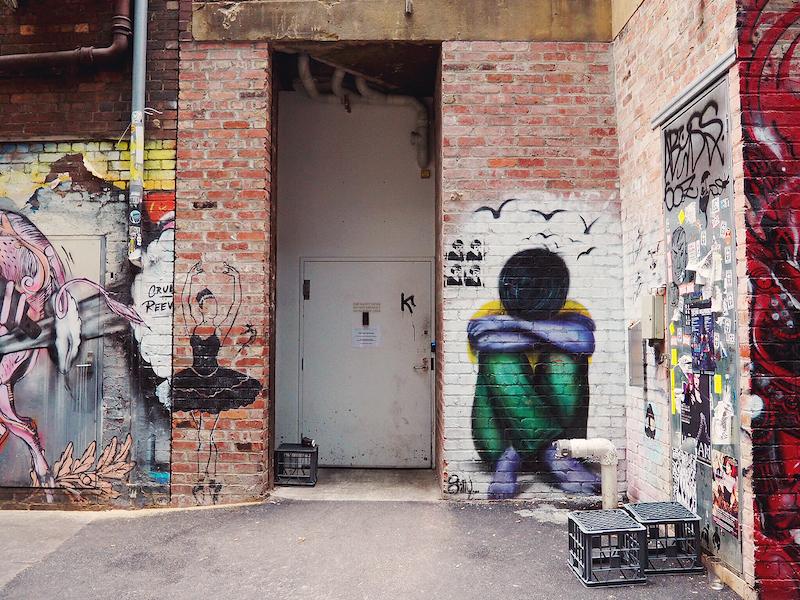 Duckboard Place Melbourne