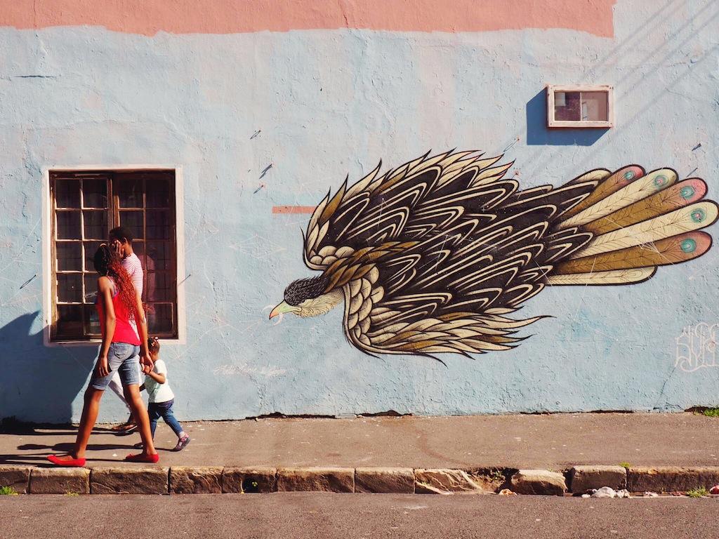 Street art walking tour Cape Town