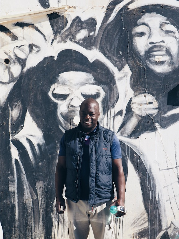 Juma hosts street art walking tours of Woodstock