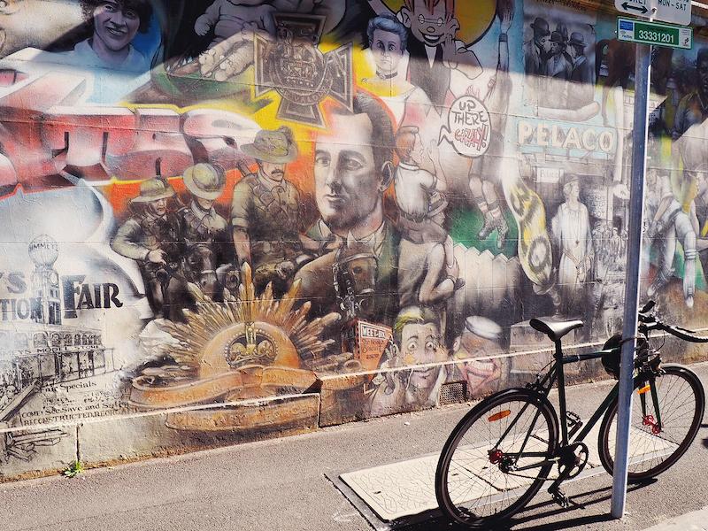 Hayden Dewar's Dimmeys Mural